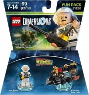 lego dimensions: fun pack - doc brown (back to the future) - Lego