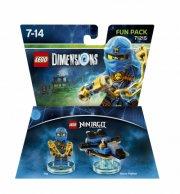 lego dimensions: fun pack - jay (ninjago) - Lego