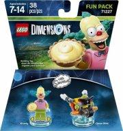 lego dimensions: fun pack - krusty (simpsons) (71227) - Lego
