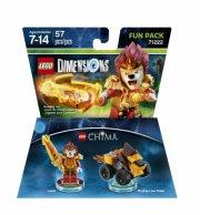 lego dimensions: fun pack - laval (chima) - Lego