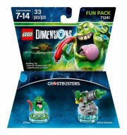 lego dimensions: fun pack - slimer (ghostbusters) - Lego
