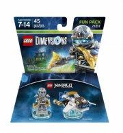 lego dimensions: fun pack - zane (ninjago) - Lego