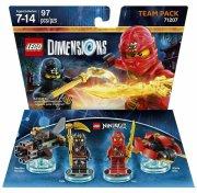 lego dimensions: team pack - ninjago - Lego