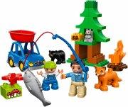 lego duplo - skov: fisketur - Lego