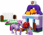 lego duplo - sofia den første - de kongelige stalde - Lego