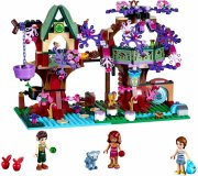 lego elves - elvernes trætopskjul (lego 41075) - Lego