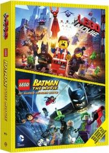 lego filmen: et klodset eventyr + lego batman: the movie - DVD