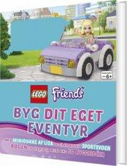 lego friends - byg dit eget eventyr - bog
