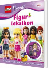 lego friends figurleksikon - bog