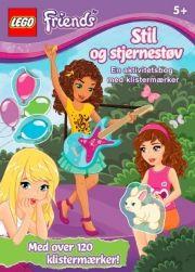 lego friends. stil og stjernestøv - bog