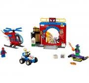 lego juniors - spider-man skjulested - Lego