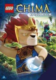 lego: legends of chima 1 - episode 1-4 - DVD