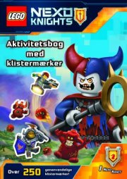 lego nexo knights: aktivitetsbog med klistermærker - bog