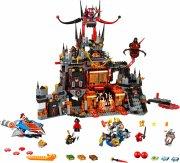 lego nexo knights - jestros vulkan-tilholdssted (70323) - Lego