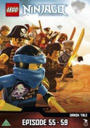 lego ninjago 13 - episode 55-59 - DVD