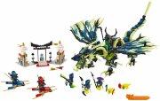 lego ninjago - moro-dragens angreb (lego 70736) - Lego