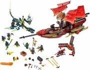 lego ninjago - skæbnebådens sidste rejse (lego 70738) - Lego