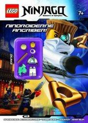 lego ninjago. nindroiderne angriber! - en aktivitetsbog med minifigur - Kreativitet
