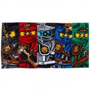 lego ninjago håndklæde - kamp - Til Boligen