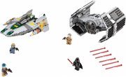 lego star wars - vaders tie advanced vs. a-wing starfighter - 75150 - Lego