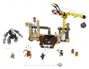 lego super heroes - marvel spider-man - rhino og sandmans superskurkeangreb (lego 76037) - Lego