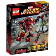 lego super heroes - hulk-redningsrobotten på smadretur (lego 76031) - Lego