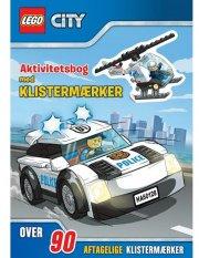lego(r) city. aktivitetsbog med klistermærker - bog