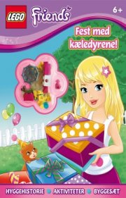 lego(r) friends. fest med kæledyrene - bog