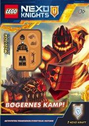 lego(r) nexo knights. bøgernes kamp - bog