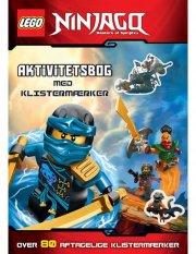 lego(r) ninjago. en aktivitetsbog med klistermærker - bog
