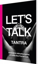 let's talk tantra - bog