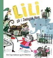 lili går i zoologisk have - bog