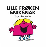 lille frøken sniksnak - bog