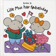 lille mus har fødselsdag - bog