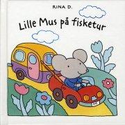 lille mus på fisketur - bog