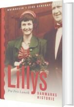 lillys danmarkshistorie - bog