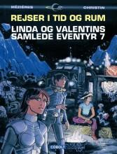 linda og valentins samlede eventyr 7: rejser i tid og rum - bog