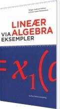 lineær algebra via eksempler - bog