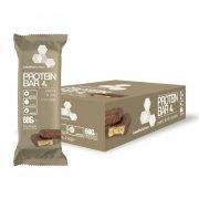 linuspro nutrition - proteinbar - peanut og chokolade - 24 stk. - Kosttilskud