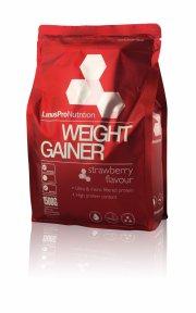 linuspro nutrition - weight gainer - jordbær - 1,5 kg - Kosttilskud