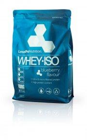proteinpulver / protein pulver - linuspro valleprotein - blåbær - 1 kg - Kosttilskud