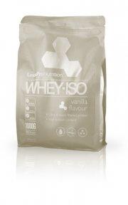 proteinpulver / protein pulver - linuspro valleprotein - vanilje - 1 kg - Kosttilskud