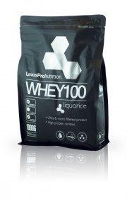 linuspro nutrition - proteinpulver - lakrids - 1kg - Kosttilskud