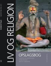liv og religion. opslagsbog - bog