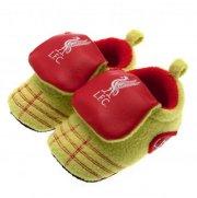 liverpool baby velcro boot - 09-12 måneder - Babyudstyr