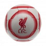 liverpool bold - merchandise læder fodbold str 5 med logo - Merchandise