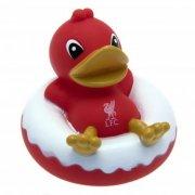 liverpool merchandise - rød badeand - Babyudstyr