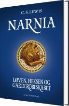 narnia 2 - løven, heksen og garderobeskabet - bog