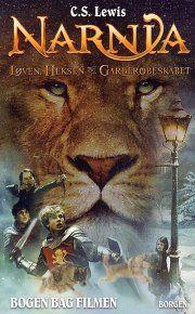 løven, heksen og garderobeskabet - narnia bd 2 - filmomslag - bog