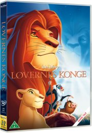 løvernes konge / the lion king - disney - DVD